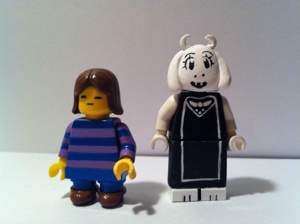 LEGO Undertale: Frisk and Toriel | Danny | Flickr