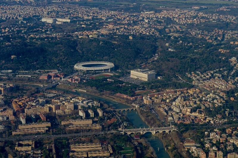 The Stadio Olimpico and the Italian Foreign Ministry