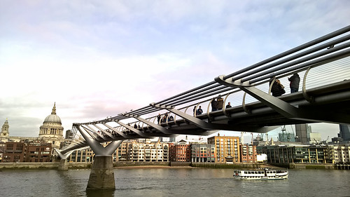 uk bridge panorama building london tourism water thames architecture skyscape boat cityscape arch waterfront cathedral outdoor steel structure millenniumbridge tatemodern southbank infrastructure milleniumbridge stpaulscathedral suspensionbridge bankside pedestriancrossing nwn truss londonskyline lumia londonmillenniumfootbridge steelarchbridge buildingstructure jjamv julesvtravel lumia930 microsoftlumia930 steelarchbridgearch