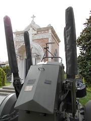 antiaerea, parco della rimembranza, 1922, Vighizzolo d'Este