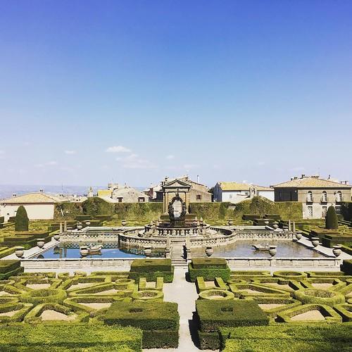 #viterbo #bagnaia #villalante #garden #tuscia Visit Tuscia   by Roberto_Ventre