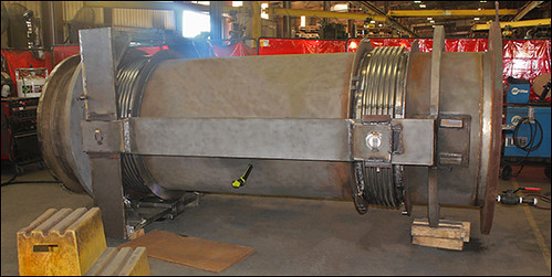 Universal Gimbal Hinged Expansion Joint for a Methanol and Puniversal gimbal hinged expansion joint for a methanol and ammonia plant in Texas Ammonia Plant in Texas