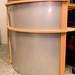 Beech radial reception desk