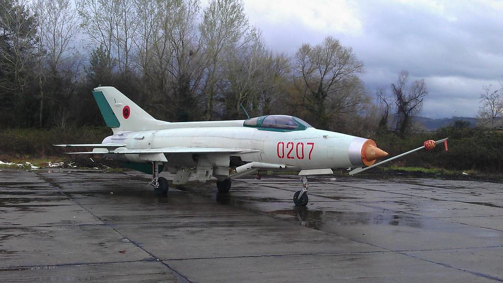 Shenyang F-7A 0207 c/n 0207 ex Albanian-AF (Stored Tirana-Rinas airfield, 14-03-2013)