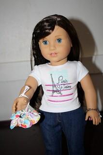 """Mimi 18"""" doll Jewelry pouch"""