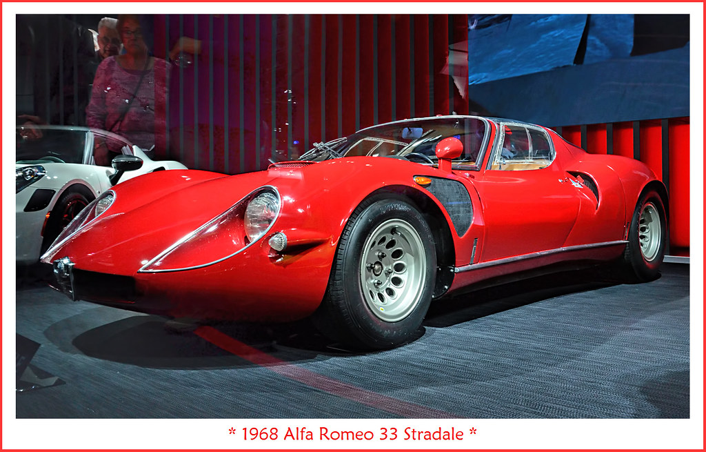 1968 Alfa Romeo 33 Stradale Visit To The North American In Flickr