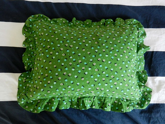 Floral Pillow front