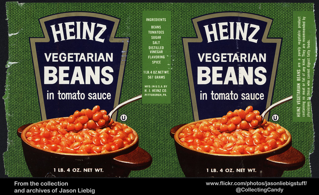 Heinz - Vegetarian Beans in Tomato Sauce - 1 lb 4 oz can l