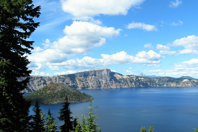 A View From Our Room at the Crater Lake Lodge