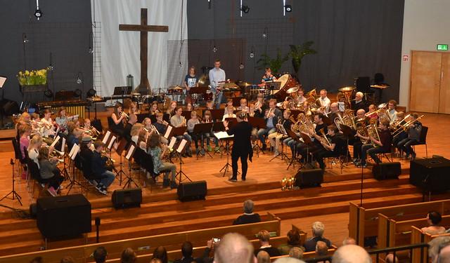 Framåt Brass - Dirigent Inka Glänneskog