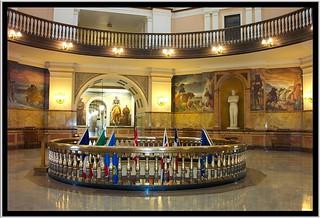 Kansas State Capitol ~ Topeka Kansas ~  Rotunda ~ Murals   by Onasill ~ Bill Badzo - OFF