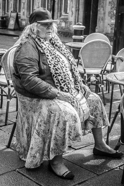 Having a rest. Winchester UK.