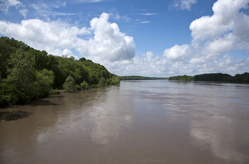 water clouds flooding scenery outdoor missouri rivers highwater floods missouririver boonville