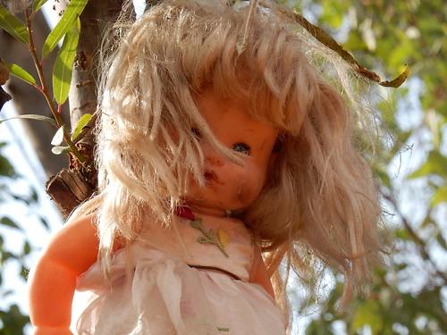 Xochimilco - reproductie van doll-monument - 2