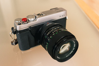 Fujifilm X-E1 with Canon FD 50mm 1.4 | by heipei