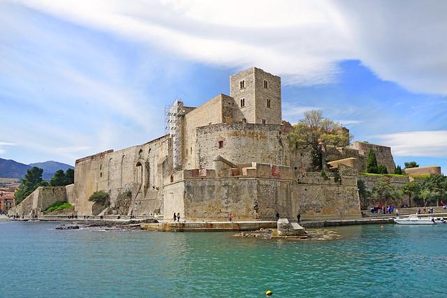 Le Château de Collioure (Pyrénées Orientales)