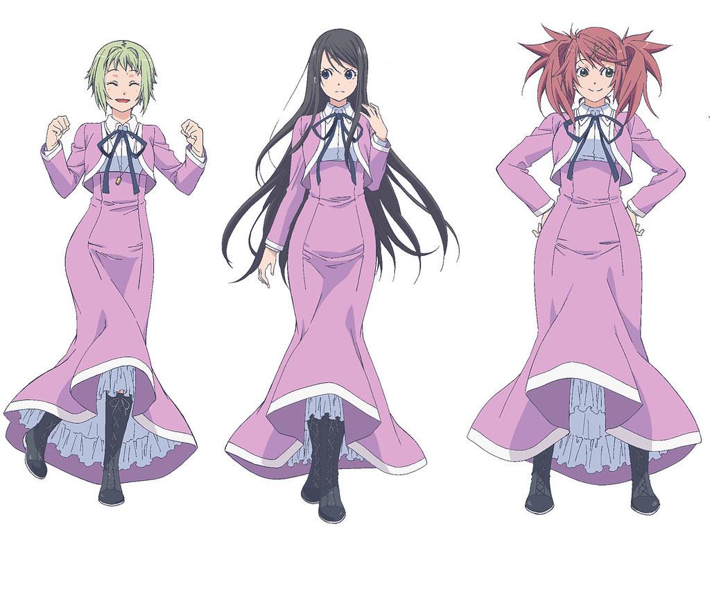 160406(1) -「鈴木絵理×茅野愛衣×大西沙織」領銜主演、7月新動畫《藍海少女!》公布7人聲優陣容!