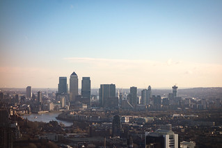 Canary Wharf from the Walkie Talkie | by Stew Dean