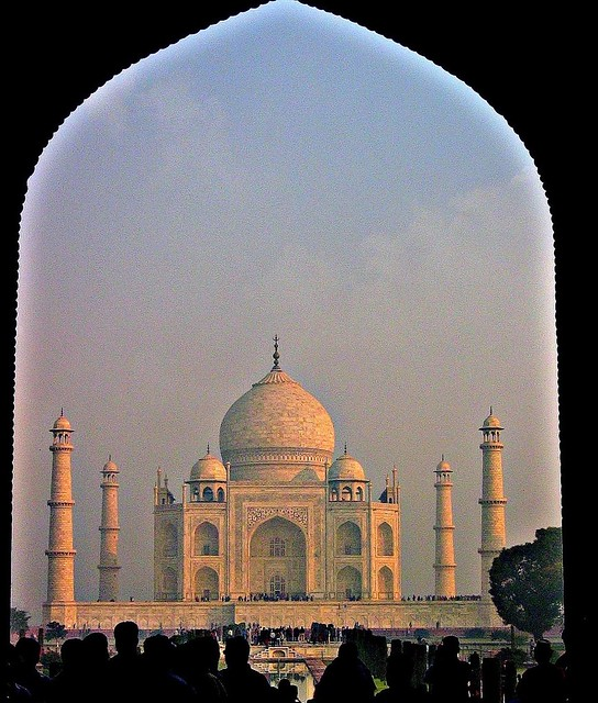 INDIEN, Agra - Taj Mahal - Mausoleum , serie , 13348/6229