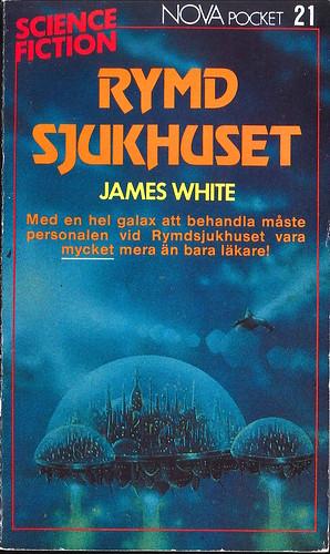 James White, Rymdsjukhuset [Hospital Station] (1985 - Laissez faire produktion AB, Nova Science Fiction Pocket [21]) uncredited cover