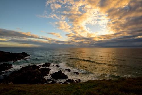 seascape rocks australia newsouthwales aus portmacquarie ndfilter nikon1635mmf4 nikond750
