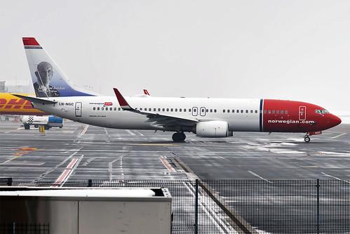 Norwegian (Jens Glad Balchen livery), LN-NGC, Boeing 737-8JP | by Anna Zvereva