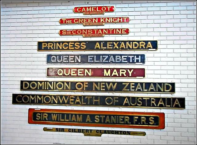 Locomotive Nameplates ..