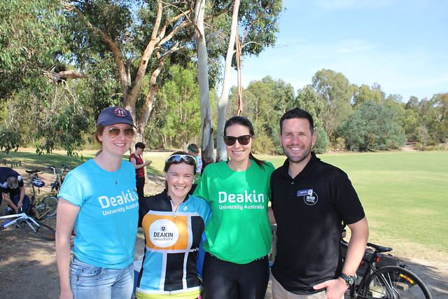 Deakin supports Cycling Victoria's Women's Ride