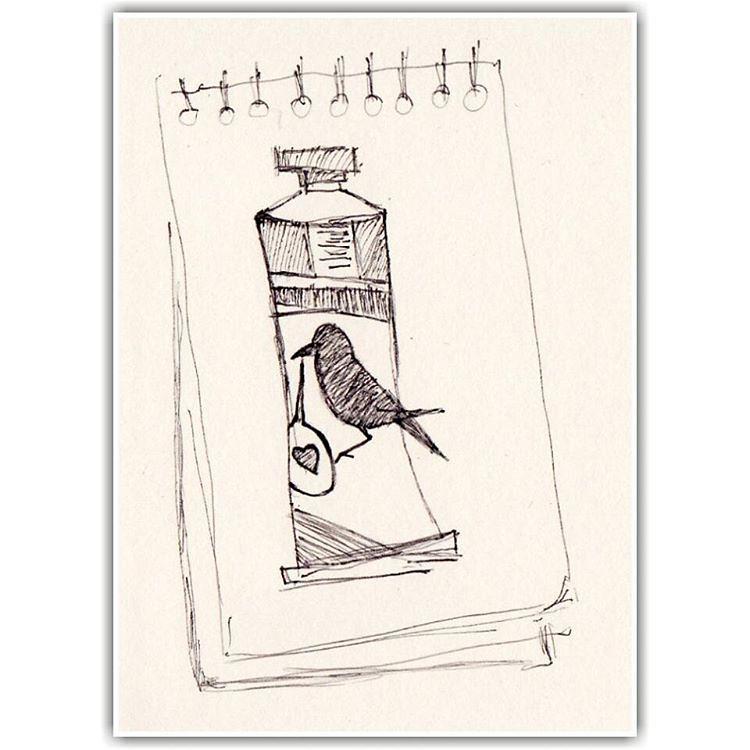 Karga Ve Boya Karga Crow Figur Sanat Boya Desen Res Flickr