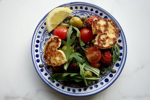 Meddy Steady Cook: Lentils, Halloumi and Chorizo | by erin.niimi