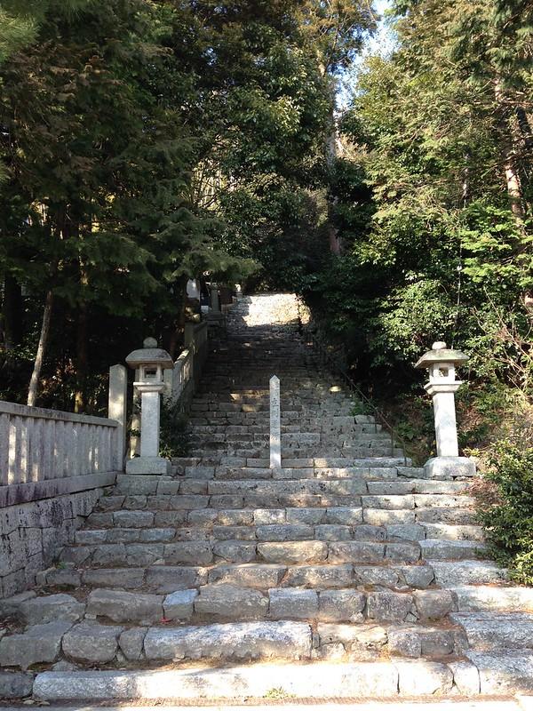 長命寺階段