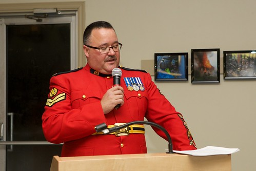 RCMP Corp. Rob Lewis, guest speaker | by digby fire dept