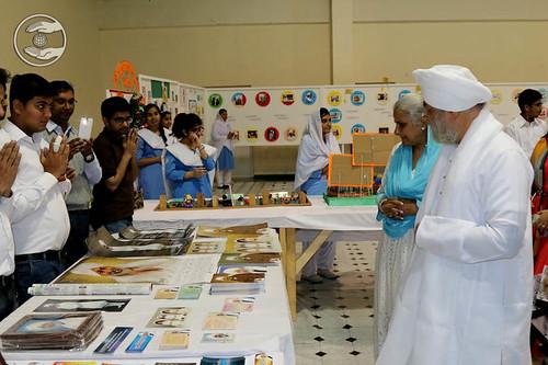 His Holiness visits pavilions of Nirankari Publications