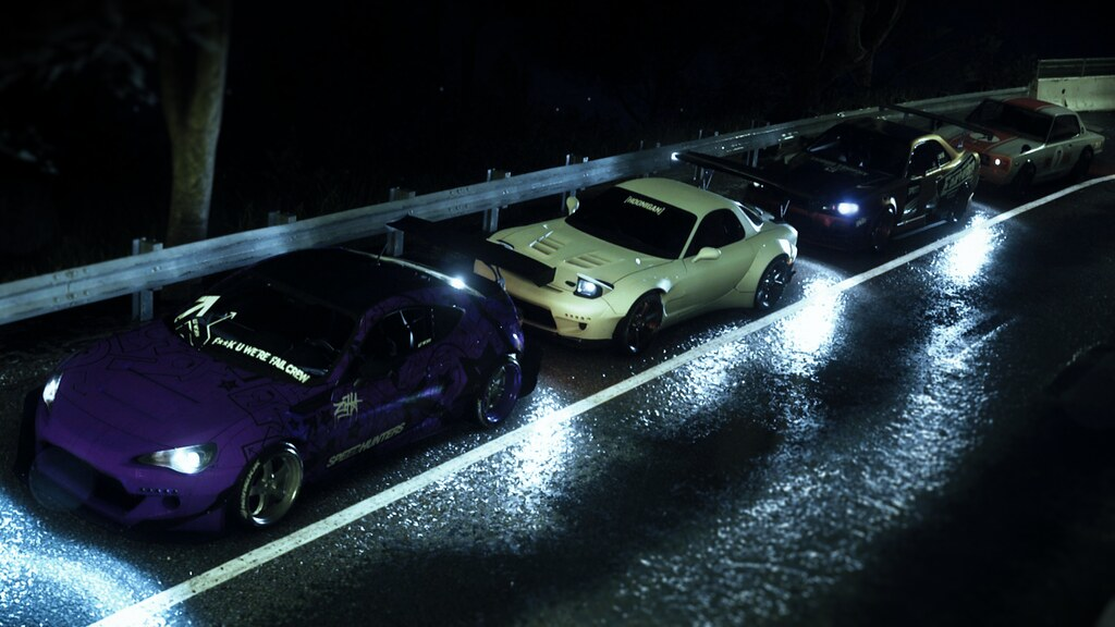 Need for Speed 2015 - Group Photoshoot | Facebook | Youtube
