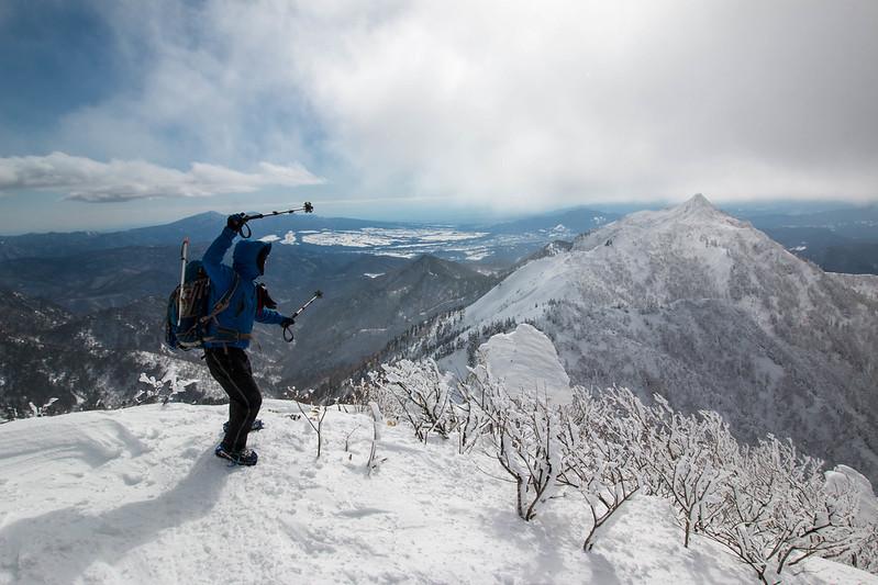 上州武尊山 雪山