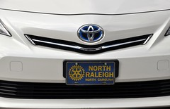 Who do you think owns this Prius with the North Raleigh front plate?