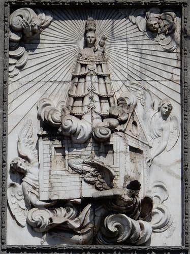 Ciudad Mexico - detail kerkgevel