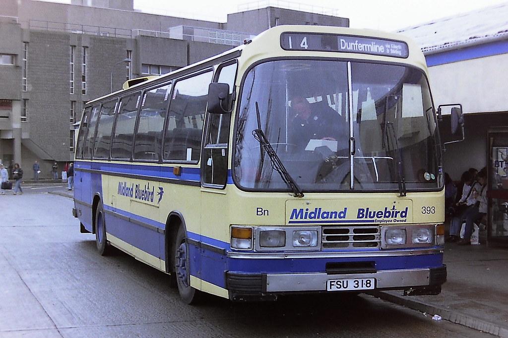 MIDLAND BLUEBIRD 393 FSU318 RMS393W