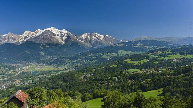 Cordon, Haute-Savoie, France...