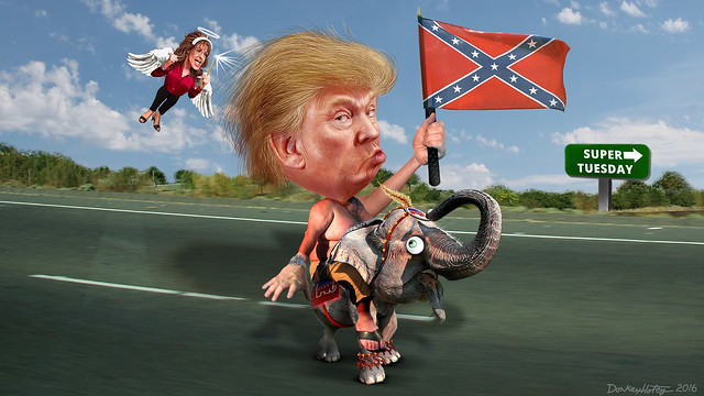 Donald Trump's Southern Strategy
