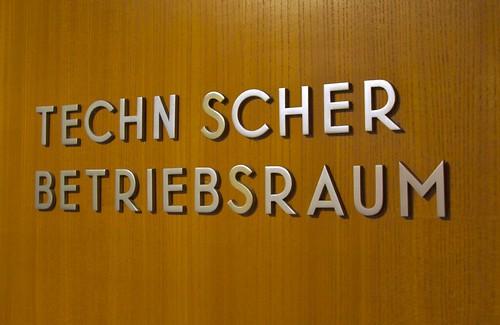 metal sign lettering at the Haus der Kulturen der Welt | by Stewf