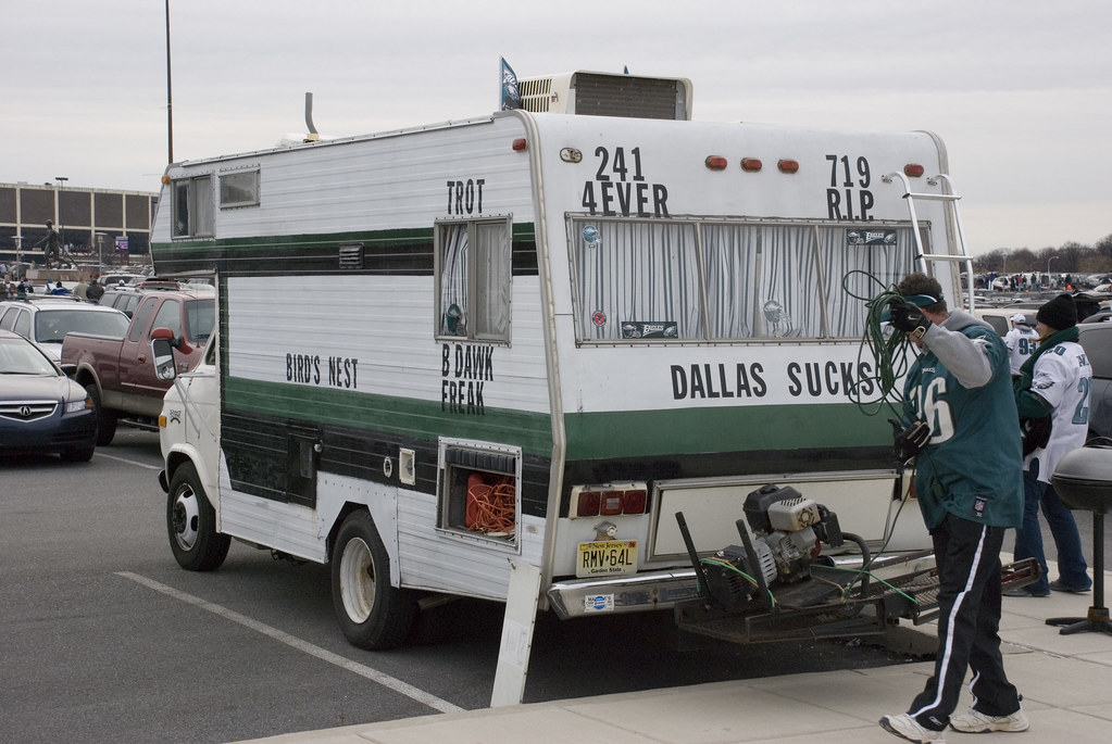Eagles RV | There was quite a selection of customized RV's a