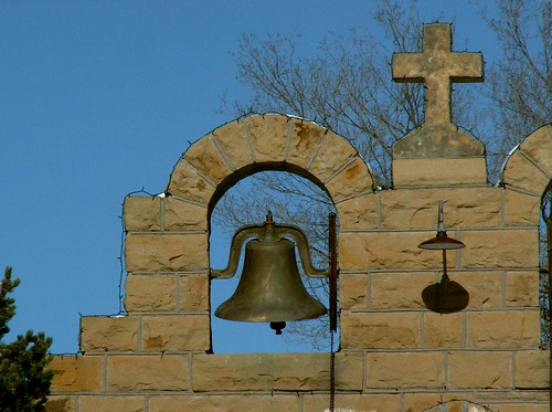 Quemado Church, Study with Bell | by cobalt123