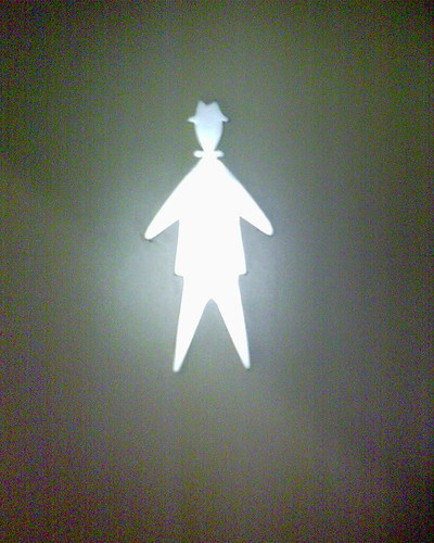 Gender sign, man, restroom | by coulmont