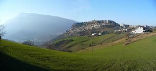 Panorama of Civitella del Tronto | by pizzodisevo 1937