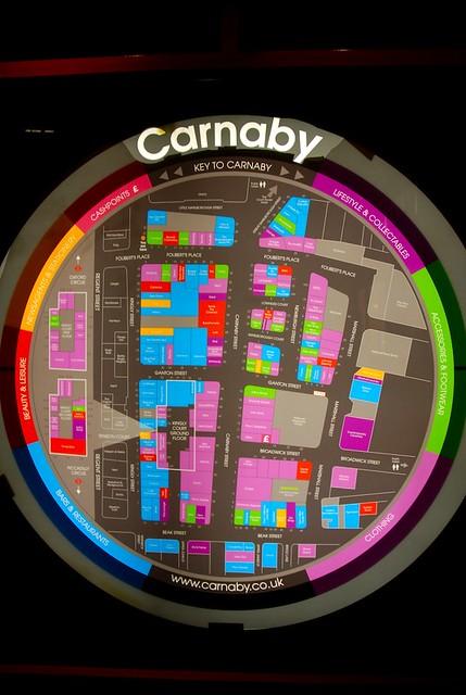Carnaby Street Map Map of Carnaby Street, Soho, London | Fantastic navigation s… | Flickr