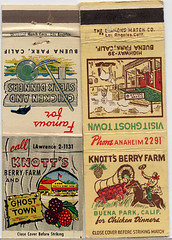 Knott's Berry Farm Matchbooks, 1950's | by Roadsidepictures