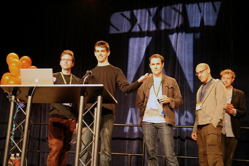 SXSW Web Awards Ceremony