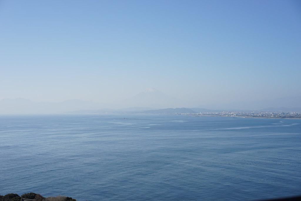 シーキャンドルから富士山