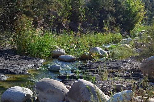 blue sky plant nature rock river outdoor kabyle soummam remila